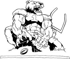 gamecock coloring pages mascot decals bear mascot decals football bear goalpost