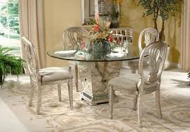 round glass top pedestal dining table 4 inspiring pedestal dining table with glass top
