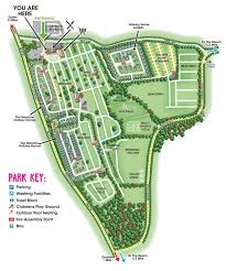 Exeter England Map by Detailed Map Of Facilities At Lady U0027s Mile Holiday Park Devon