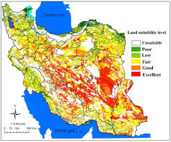Isfahan On World Map by Land Suitability Analysis For Solar Farms Exploitation Using Gis