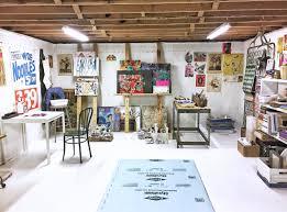 studio ideas art studio ideas painting the floor white art studio workspace