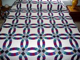 wedding ring quilt wedding ring quilt