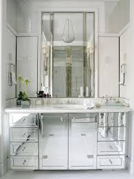 Mirror Vanity Bathroom Mirrored Bathroom Vanities Espinet Within Vanity Decor 5