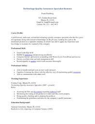 Data Quality Analyst Job Description Software Quality Analyst Resume Free Resume Example And Writing