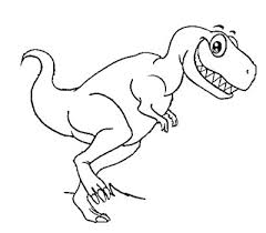 printable 30 dinosaurs coloring pages 10273 cute rex coloring