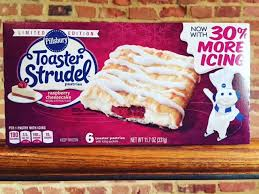 review pillsbury raspberry cheesecake toaster strudel junk banter