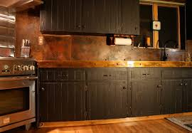 copper backsplash for kitchen hammered copper backsplash home designs idea