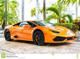 lamborghini sport orange luxury sport car lamborghini aventador editorial image