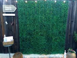wedding backdrop grass grass squares from the 99 only store make a great