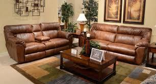 Reclining Living Room Set Nolan Power Reclining Living Room Set Chestnut Catnapper