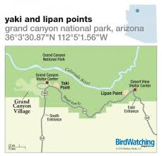 lipan map 196 yaki and lipan points grand national park arizona