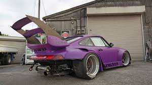 rauh welt porsche 993 this is the new triple tier wing for the rwb 993 turbo u201crotana u201d