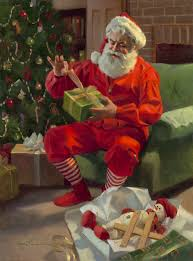 tom browning u0027present for santa u0027 jolly old st nicholas
