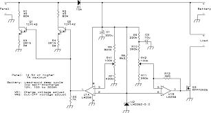 solar voltage regulator electronic circuit