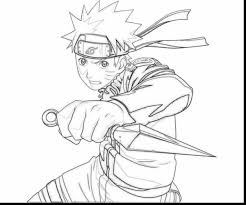 astounding naruto uzumaki coloring pages with anime coloring pages