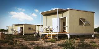 hex house is an affordable and rapidly deployable solar home for