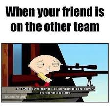 Cod Memes - allies on the same team on your shitlist if on opposing teams