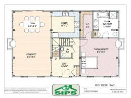 Home Plans Open Floor Plan by Contemporary Open Floor House Plans Modern With Windowsmodern Plan
