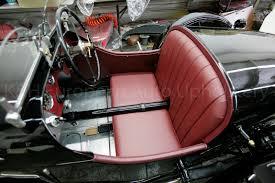 Antique Auto Upholstery Gallery Riley Burgandy Interior U2013 K U0026h European Auto Upholstery