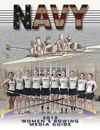 2015 women u0027s rowing guide by naval academy athletic association
