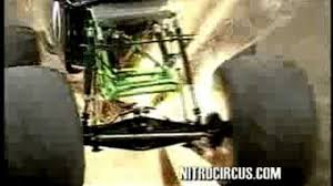 nitro circus monster truck backflip trucks go boom crash reel video dailymotion