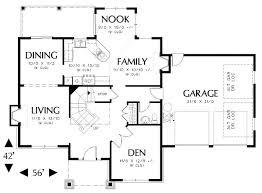 floor plans 2000 sq ft floor plan frame wrap porch country storey single