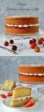 vanilla sponge cake with strawberry meringue buttercream recipe