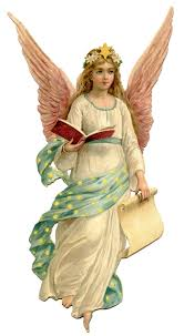 vintage christmas image beautiful angel the graphics fairy