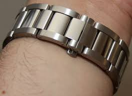 cartier bracelet steel images Cartier calibre de cartier discussion and gen vs rep photo jpg