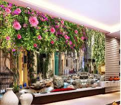 3d murals 3d murals wallpaper for living room dream flower wall custom 3d