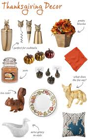 thanksgiving home decor unsweetened