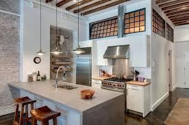 cuisine style loft cuisine style industriel loft un loft yorkais clectique