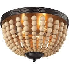 wood flush mount ceiling light elk lighting helene 3 light flushmount ceiling light oil rubbed