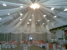 Sheer Draping Wedding Ceiling Drapes Wedding Promotion Shop For Promotional Ceiling