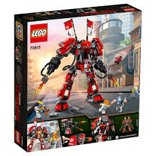 peugeot lego 70615 lego ninjago movie fire mech 944 pieces age 9 14 years new