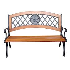 Front Porch Bench Shop Garden Treasures 26 In W X 49 5 In L Patio Bench At Lowes Com