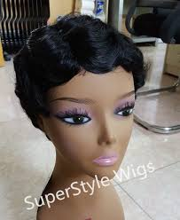 www yayhairstyles com permed new short black curly wig afro african american wigs for black