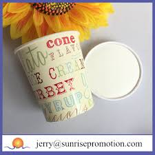 Personalized Ice Cream Bowl Disposable Paper Cup 12oz Custom Ice Cream Bowl Buy Custom Ice