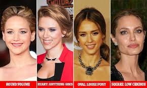 oblong face low hairline updos for every face shape from low chignons to loose ponytails