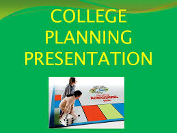 college planning presentation exciting stressful