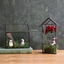 Windowsill Greenhouse Ceramic Club Z Glass Greenhouse Succulents Welding Glass