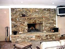 diy stone fireplace mantel peel and stick outdoor makeover diy