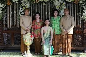 profil gibran jokowi taplak meja jadi cenderamata pernikahan putra jokowi republika online