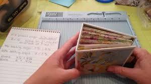4x4 photo album pocket page 4x4 mini album