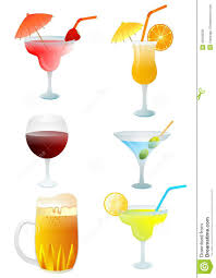 drink vector drinks set stock vector image of drunk drink beverage 40056058