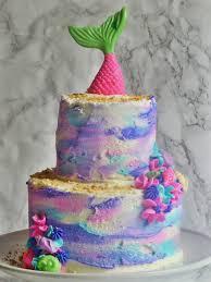 mermaid cake ideas mermaid cake white cake with buttercream pink