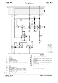 audi a4 1997 wiring diagrams audi wiring diagrams instruction