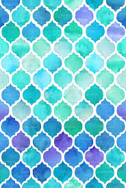 Moroccan Small Pattern Wallpaper Peel by Blue And Green Moroccan Pattern Wallpaper Micklyn Spoonflower