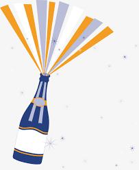 chagne celebration decoration vector vector chagne
