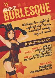 house of burlesque events milton keynes wonderworld night